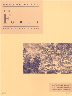 Eugène Bozza: En Forêt (Horn/Piano) Books | French Horn, Piano Accompaniment