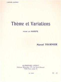 Marcel Tournier: Thème Et Variations (Harp) Books | Harp