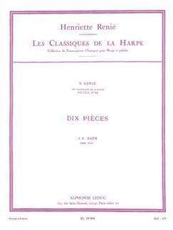 J.S. Bach: Dix Pièces (Harp) (Renié) Books | Harp