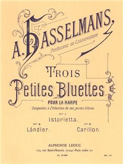 Alphonse Hasselmans: Trois Petites Bluettes Op.28 (Harp solo) Books | Harp