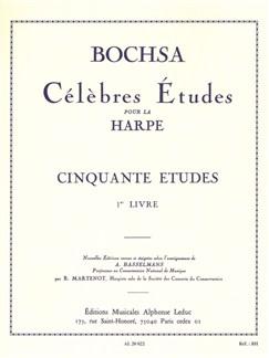 Robert Nicolas-Charles Bochsa: 50 Etudes Op.34 Vol.1 (Harp) Books | Harp