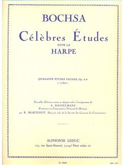 Robert Nicolas-Charles Bochsa: 40 Etudes Faciles Op.318 Vol.1 Books | Harp
