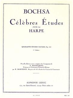 Robert Nicolas-Charles Bochsa: 40 Etudes Faciles Op.318 Vol.2 (Harp) Books | Harp