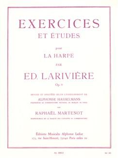 Edmond Larivière - Exercices et Études pour la Harpe Livre | Harpe