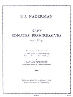 François Joseph Nadermann: Sept Sonates Progressives Pour La Harpe Books | Harp