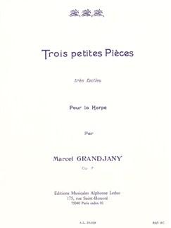 Marcel Grandjany: 3 Petites Pièces Très Faciles Op.7 (Harp Solo) Books | Harp