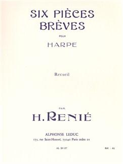 Henriette Renié: Six Pièces Brèves (Harp Solo) Books | Harp