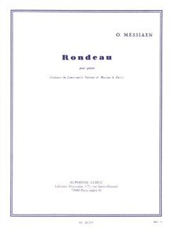 Olivier Messiaen: Rondeau For Piano Books | Piano