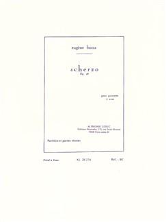 Eugène Bozza: Scherzo For Wind Quintet Op.48 (Score/Parts) Books | Wind Quintet