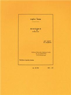 Eugène Bozza: Nuages - Scherzo For Saxophone Quartet (Score/Parts) Books | Saxophone (Quartet)