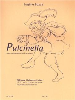 Eugène Bozza: Pulcinella Op.53 No.1 (E Flat Saxophone/Piano) Books | Alto Saxophone, Baritone Saxophone, Piano Accompaniment
