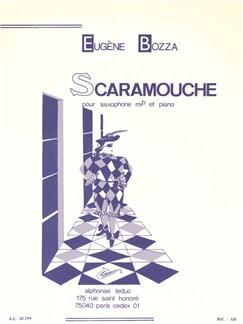 Eugène Bozza: Scaramouche Op.53 No.2 (Alto Saxophone/Piano) Books | Alto Saxophone, Piano Accompaniment