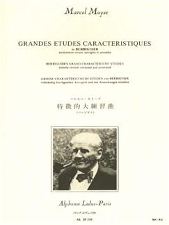 Marcel Moyse: Grandes Etudes Caractéristiques de Berbiguier (Flute) Libro | Flauta