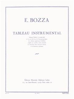 Eugène Bozza: Tableau Instrumental Livre | Tous Les Instruments