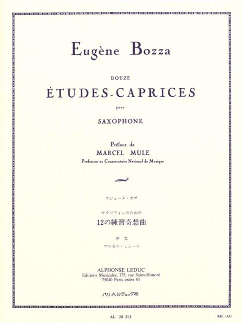 BOZZA 12 ETUDES CAPRICES EPUB