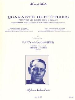 Marcel Mule: 48 Études D'Après Ferling (Saxophone) (New Edition) Buch | Saxophon