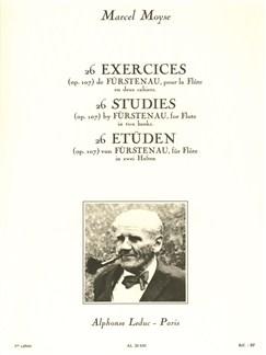 Marcel Moyse: 26 Exercices De Fürstenau Op.107 Vol.1 (Flute) Buch | Querflöte