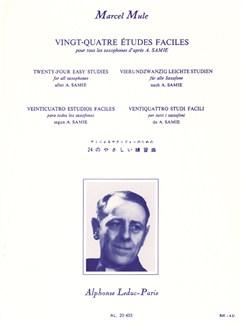 Mule: 24 Études Faciles D'après Samie Saxophone Books | Saxophone