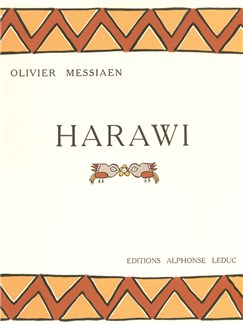 Harawi Pour Chant Et Piano Books | Piano, Voice, Score