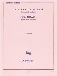 Marcel Bitsch: For Noami - The Anthology (Piano) Books | Piano
