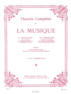J. Chailley/H. Challan: Théory Complète De La Musique - Vol. 2 Books | Theory Books and Papers