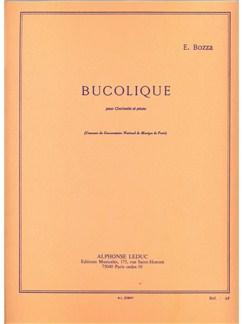 Bucolique Pour Clarinette Et Piano Books | Clarinet, Piano, Score