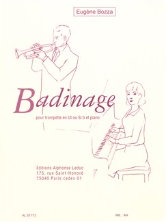Eugène Bozza: Badinage (Trumpet/Piano) Books | Trumpet, Piano Accompaniment