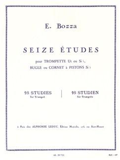 Eugène Bozza: 16 Studies (Trumpet/Bugle/Cornet) Books | Trumpet