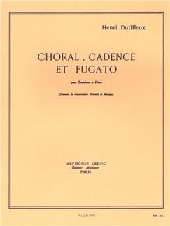 Henri Dutilleux: Choral, Cadence Et Fugato (Trombone/Piano) Books | Trombone, Piano Accompaniment