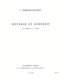 Jules Semler-Collery: Rêverie Et Scherzo (Clarinet/Piano) Books | Clarinet, Piano Accompaniment