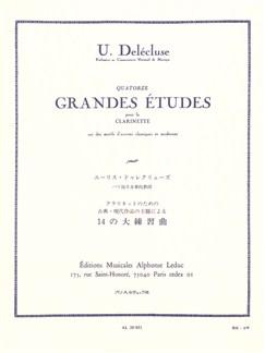 Ulysse Delécluse: 14 Grandes Etudes (Clarinet) Books | Clarinet