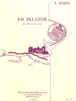 Eugene Bozza: En Irlande (Horn/Piano) Books | French Horn, Piano Accompaniment
