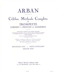 Jean-Baptiste Arban:Célèbre Méthode Complète Vol.1 Bog | Trompet, Kornet