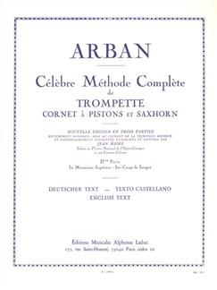 Célèbre méthode complète de trompette, cornet à pistons et saxCor volume 2 Livre | Trompette, Cornet