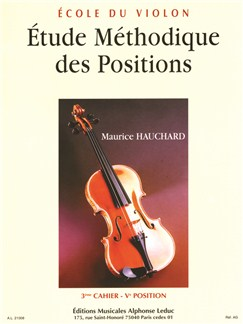 Maurice Hauchard: Étude Méthodique  Des Positions Vol.3 - 5th Position (Violin) Buch | Violine
