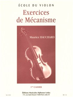 Maurice Hauchard: Exercices De Mécanisme Vol.1 (Violin) Books | Violin