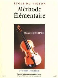 M. Hauchard: Méthode élémentaire Vol.2 (Violon Seule) Livre | Violon