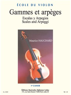 Maurice Hauchard: Gammes Et Arpèges Vol.1 (Violin) Books | Violin