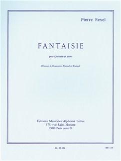 Pierre Revel: Fantaisie For Clarinet And Piano Books | Clarinet, Piano Accompaniment