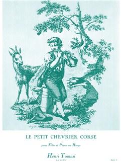 Henri Tomasi: Le Petit Chevrier Corse (Flute/Piano) Books | Flute, Piano Accompaniment