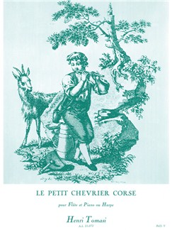 Henri Tomasi: Le Petit Chevrier Corse (Flûte/Piano) Livre | Flûte Traversière, Accompagnement Piano