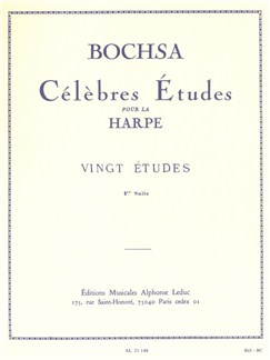Nicolas-Charles Bochsa: Celebrated Studies for Harp (Suite 1) Books | Harp