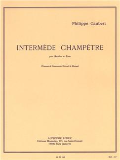 Philippe Gaubert: Intermède Champêtre (Oboe/Piano) Books | Oboe, Piano Accompaniment