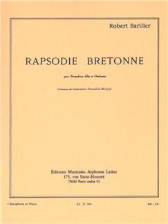 Robert Bariller: Rapsodie Bretonne (Alto Saxophone/Piano) Books | Alto Saxophone, Piano Accompaniment