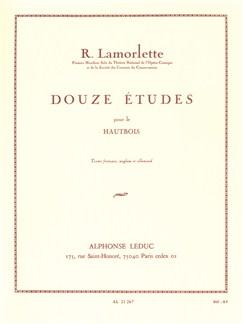 Roland Lamorlette: Douze Études Livre | Hautbois