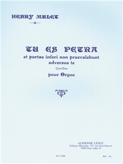 Henri Mulet: Tu Es Petra Books | Organ