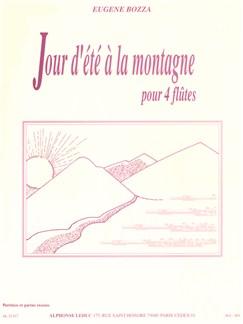 Eugène Bozza - Jour D'été À La Montagne (Flute Quartet) (Score/Parts) Books | Flute (Quartet)