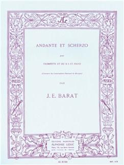 Jacques Ed. Barat: Andante Et Scherzo (Trumpet And Piano) Books | Trumpet, Piano Accompaniment