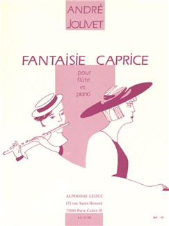 André Jolivet: Caprice Fantasy, for Flute and Piano Books | Flute