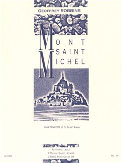 Geoffrey Robbins: Mont Saint Michel (Trumpet/Piano) Books | Trumpet, Piano Accompaniment